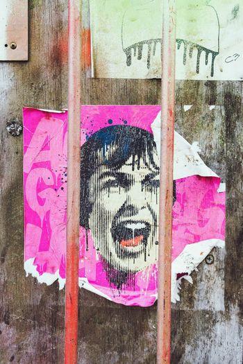 Psycho 1 Streetphotography Street Art London Psycho Film Moviestar Hitchcock