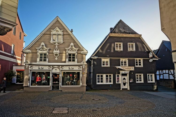 """""""Tante Alma"""" Architecture Building Exterior Business Finance And Industry City Day Framehouses Herdecke History In Westphalia No People Old Town Square Old-fashioned Outdoors Sky Small Town Travel Destinations Village Photography"""