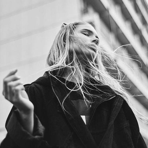 Longhair Blonde Hair B&w B&w Photography Natrualbeauty Natrual Beauty  Long Hair Photography Fashion Photography Gorgeous Aesthetics Model Fashion Urban Fashion Street Fashion Urbanstyle Streetstyle
