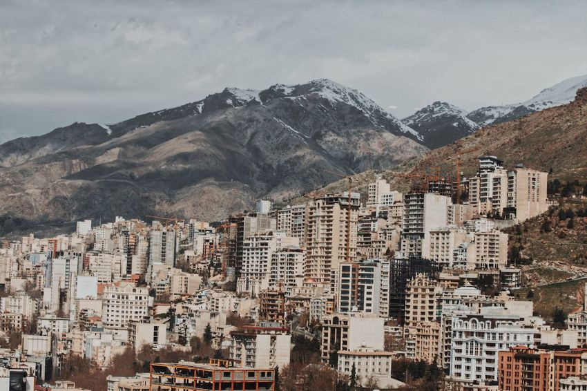 Building Exterior Mountain Architecture Population Buildings Tehran City EyeEm Open Edit OpenEdit Mountain Architecture Built Structure Building Exterior Building Mountain Range No People Day Nature Sky Scenics - Nature City Residential District Beauty In Nature Outdoors Snow Winter Cityscape Snowcapped Mountain TOWNSCAPE