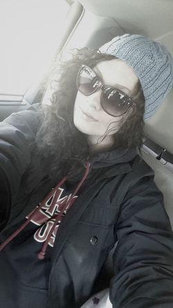 Sunglasses Sunday Girl Curly