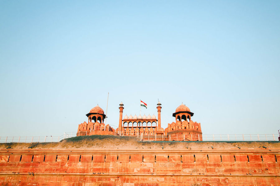 Red Fort in Delhi Architecture Day Dusk India New Delhi No People Outdoors Red Fort Sky Travel UNESCO World Heritage Site
