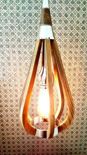 Hanging light, interior design, decor