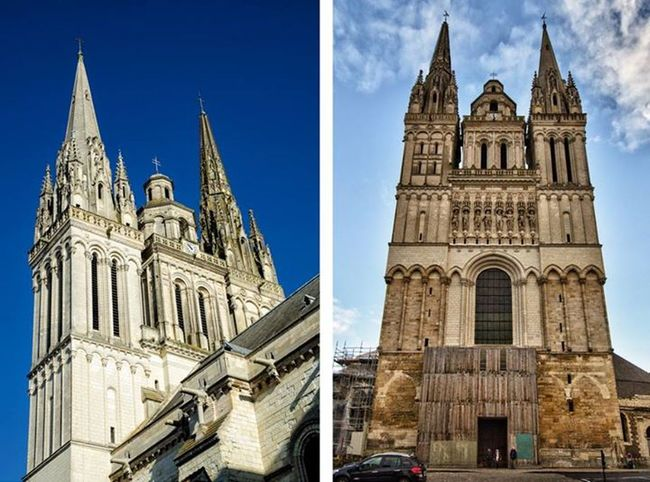 Cathedral Saint Maurice D'Angers.