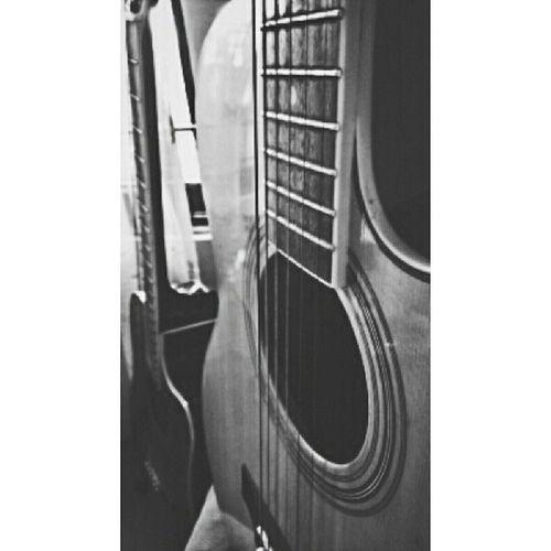 Guitars ?Phonephotog My Guitar Black & White