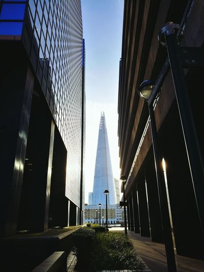 City Skyscraper Travel Travel Destinations Architecture Modern London Streets Shard Thames London Beautiful ♥ Big City HuaweiP9 Mobile Photography