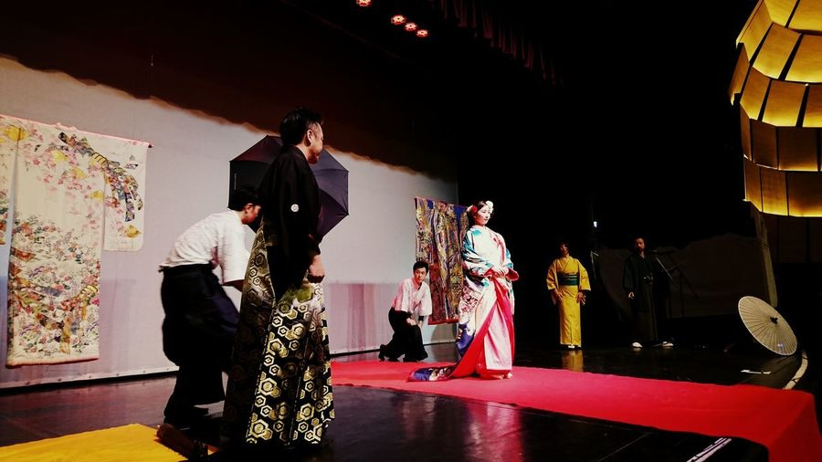 Made by Sony Xperia XZ Ataru Taiko Japanese  Japanese Wedding Swords Traditional Clothing Culture Girls Indoors  Japanese Day Katana