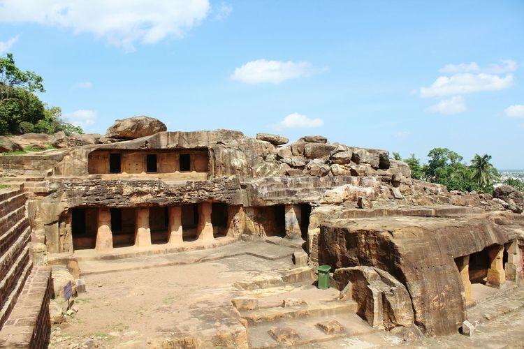 Travel Photography Enjoying Life Orissa Puri Bhubaneswar,india Khandagiri 1000s Years Old Hindutemples Buddhist Temple Stone Carving Man Made Caves Art Life Cycle