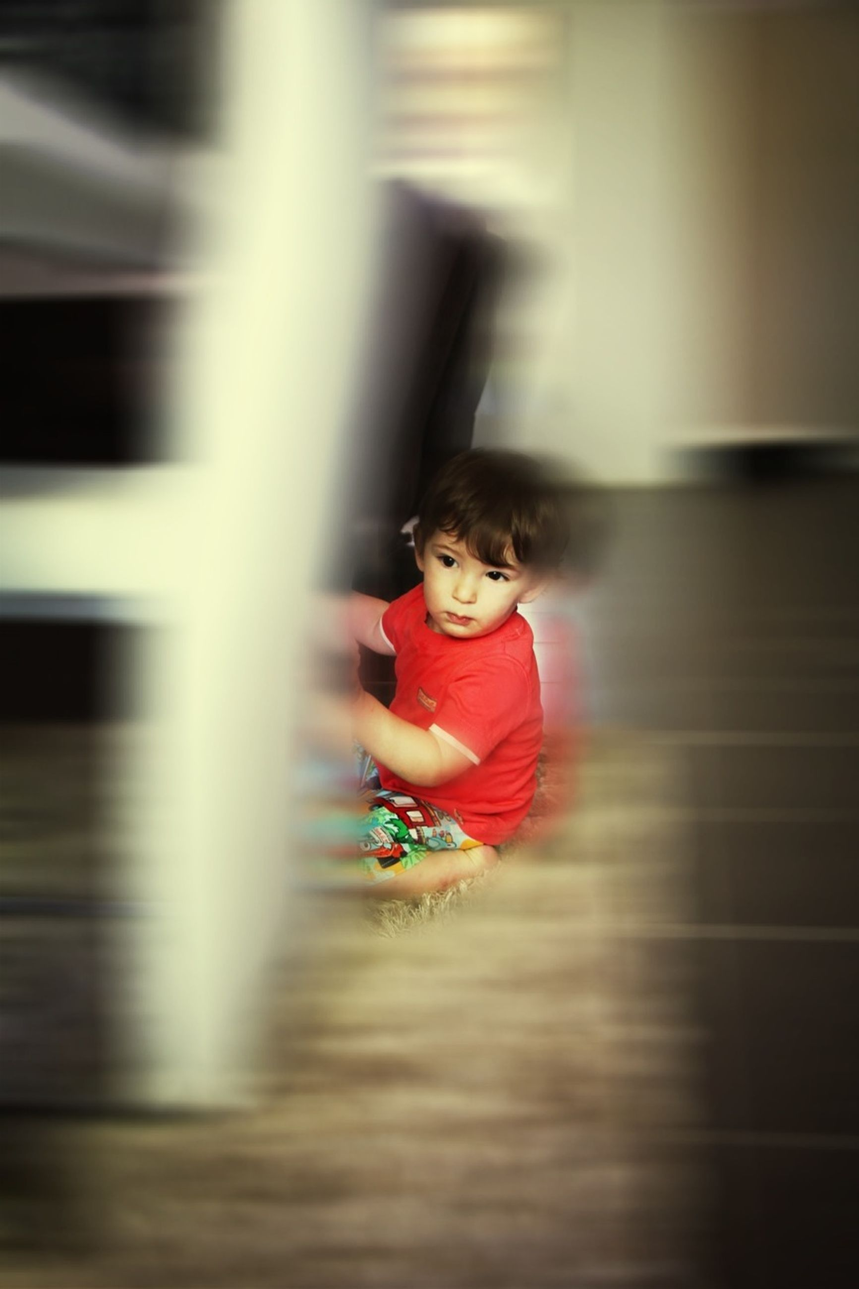 childhood, elementary age, lifestyles, person, boys, leisure activity, cute, girls, innocence, indoors, full length, casual clothing, playing, playful, happiness, portrait, fun, looking at camera