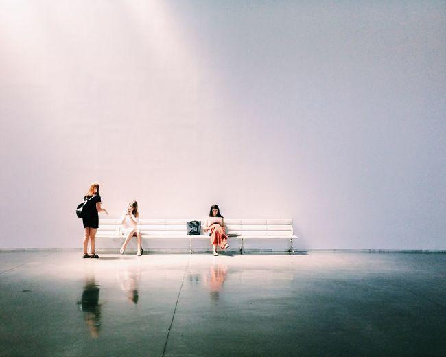 People in sea