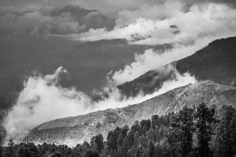 Beauty In Nature Cloud Cloud - Sky Cloudy Day Geology Hill Idyllic Landscape Majestic Mountain Mountain Range Nature No People Non Urban Scene Non-urban Scene Outdoors Overcast Physical Geography Remote Scenics Sky Tranquil Scene Tranquility Weather