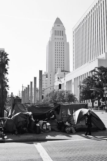 Everything is wait for you...downtown Streetphoto_bw Streetphotography Analogue Photography Film Photography 35mm Film Downtown Los Angeles Homeless Black & White Urban Real Life
