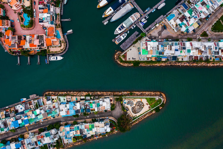 Transportation Water Architecture Mode Of Transportation Aerial View Nautical Vessel Building Exterior No People Built Structure High Angle View Harbor City Nature Sea Freight Transportation Outdoors Business Shipping  Cityscape Yacht Apartment Drone  Holiday Pier EyeEm Selects