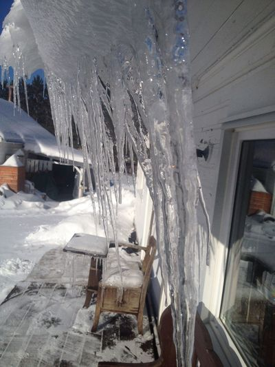 Icicles in the sun Hanging Out Hello World Enjoying Life Check This Out