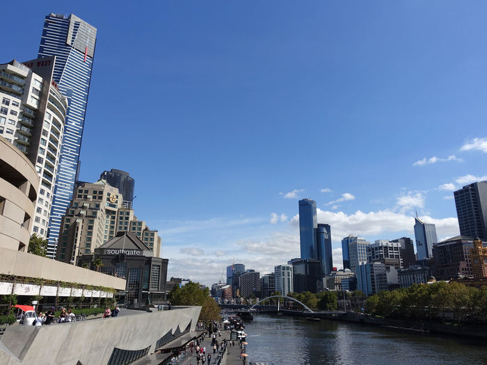 Melbourne cityscape from Princes Bridge Architecture Building Exterior Built Structure City Building Sky Office Building Exterior Water Skyscraper Nature Urban Skyline Tall - High Office Day City Life Modern Tower Cityscape River Outdoors Financial District  No People Melbourne Princes Bridge