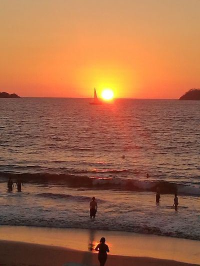 Fgugal Sunset Sea Travel Destinations Vacations Beach Horizon Over Water Tranquility