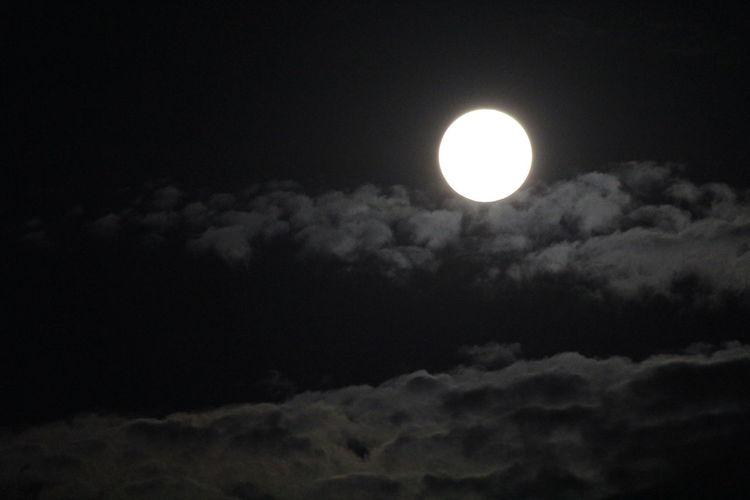 A full moon in
