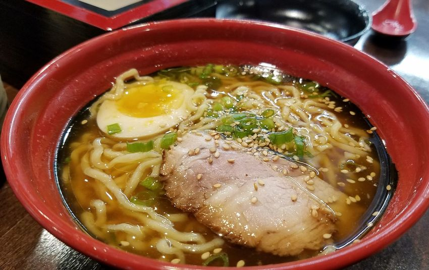 Kitakata Style Shoyu Ramen. Kitakata Ramen Soup Foodphotography Foodporn❤️ Plano TX Texas Japanese Food Yummy Food Bowl Of Soup Kula Revolving Sushi Eggs... Noodles Pork