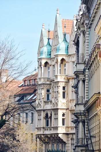 A connection with the past. Historical Building Architecture Building Building Exterior Built Structure City Design History Low Angle View Residential District Urban Window