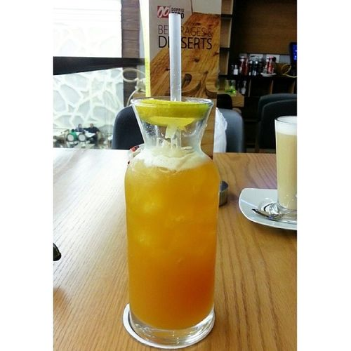 Passion fruit ice tea