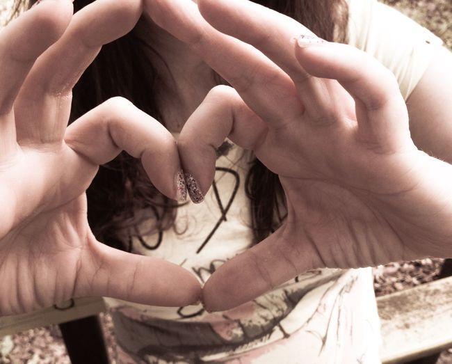 Love Love Hand Heart I Love You ! Handshape