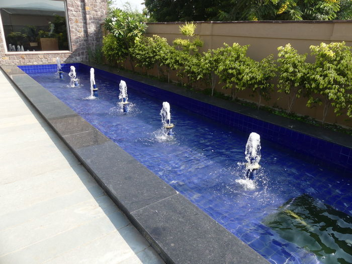 Fountains at