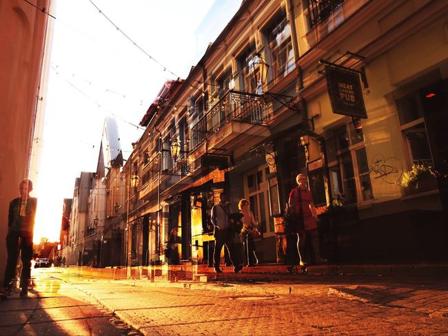 Street Lithuania Vilnius, Lithuania Vilnius Architecture Built Structure City Walking Full Length People Capital City Vilnius City Oldtown