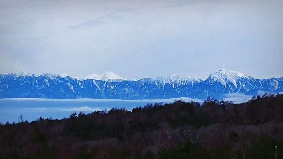 Mountains 甲斐駒ヶ岳 Panorama