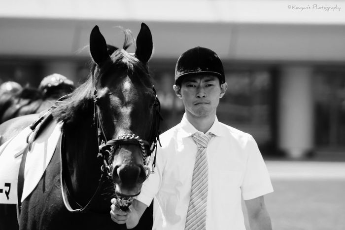 Racecourse Horse Horses Paddock Black & White Black And White Blackandwhite Tokyo Racecource EyeEm Best Shots EyeEm