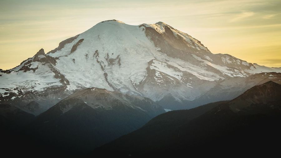 Mt Rainier The Great Outdoors - 2015 EyeEm Awards the awesome view
