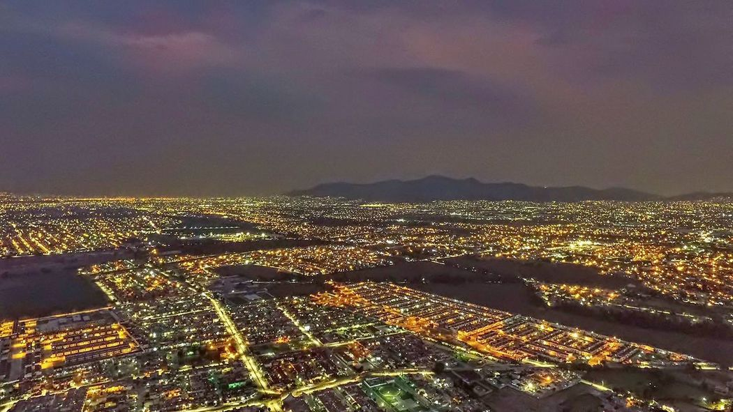 No People Outdoors Illuminated Night Sky Cityscape City Tranquility Landscape Scenics Travel Destinations Nature Skyscraper Urban Skyline Architecture Building Exterior Beauty In Nature HDR DJI Phantom 4 Dji Phantom Dji Dji Global Djiphotography Estado De México Citynight Lost In The Landscape