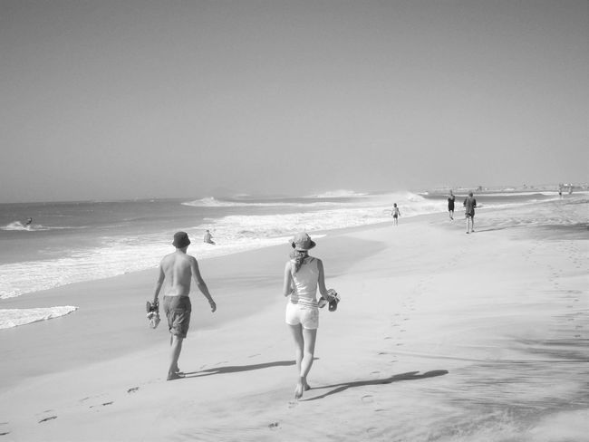 Beach Day Horizon Over Water Nature Sand Sea Shore Summer Tourism Vacations Water Wave The Essence Of Summer The Great Outdoors - 2016 EyeEm Awards The Following