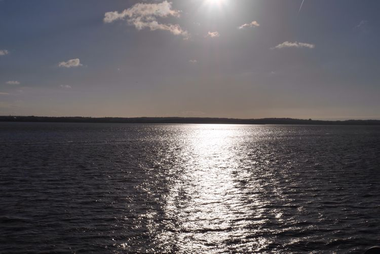 Shimmer Sunonthewater River Mersey Sunlight