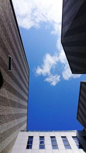 幾何的世界如此簡單美好 我的世界 只剩下厭世 Politics And Government City Modern Business Finance And Industry Skyscraper Façade Sky Architecture Building Exterior Built Structure