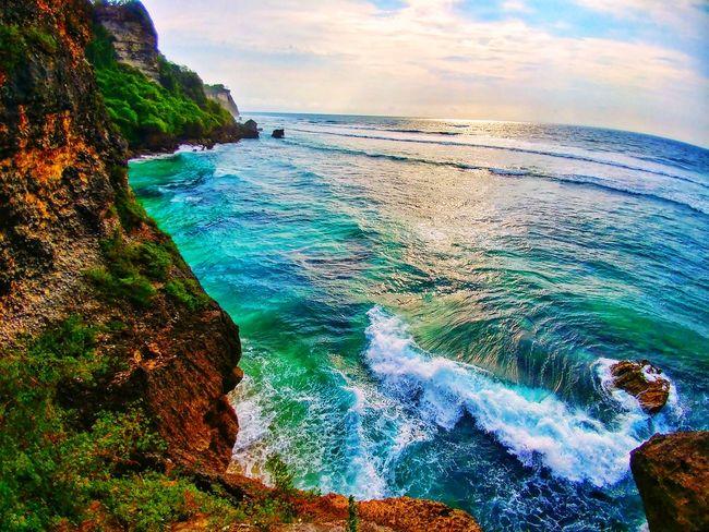 Bali, Indonesia Uluwatu Uluwatu Beach Uluwatu Bali Sea Water Beach Nature Sky Outdoors Cloud - Sky
