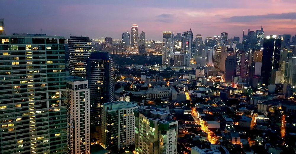 city view at