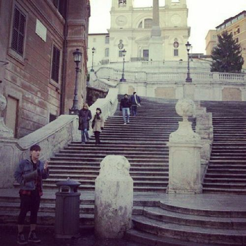 Italy -Rome 스페인계단 지식투어 기달리면서....ㅜㅜ 해외여행 배낭여행 외국 유럽