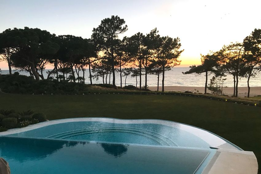 Working with a view Portugal Sunset Guanilho Duarte Guanilho Algarve Tranquility Tranquil Scene Scenics Outdoors Growth Sky Day Sunset