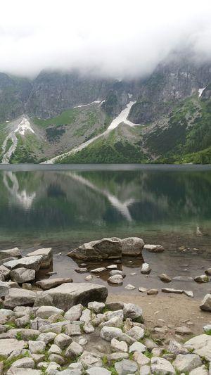 Mountains Water Rocks Beautiful Morskieoko