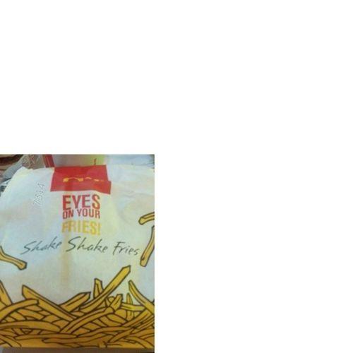 Shake Shake Fries - EyesOnYourFries McDo