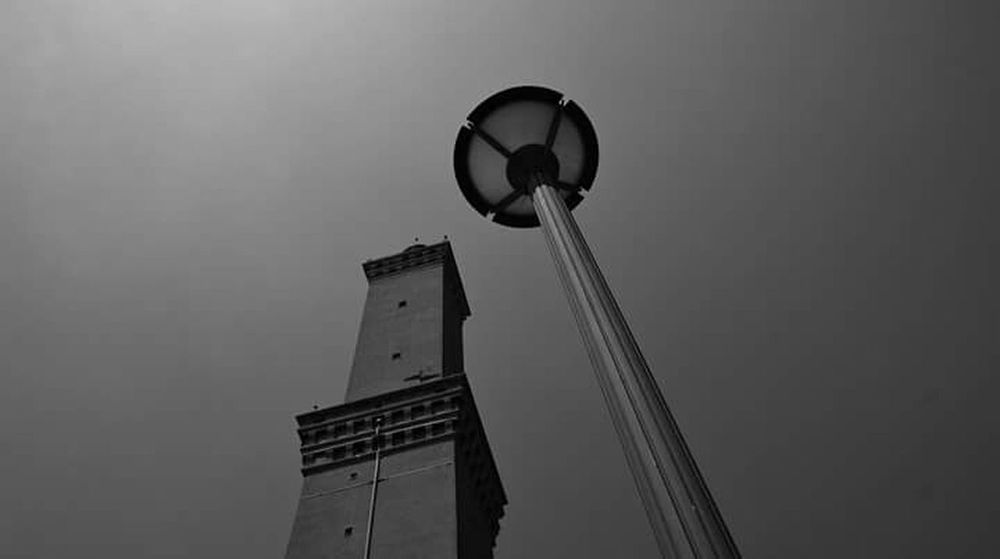 Lanterns Lanterna Di Genova Genova Black And White Faro