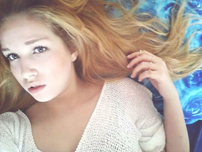 Blonde Girl Beauty Loveall ♡