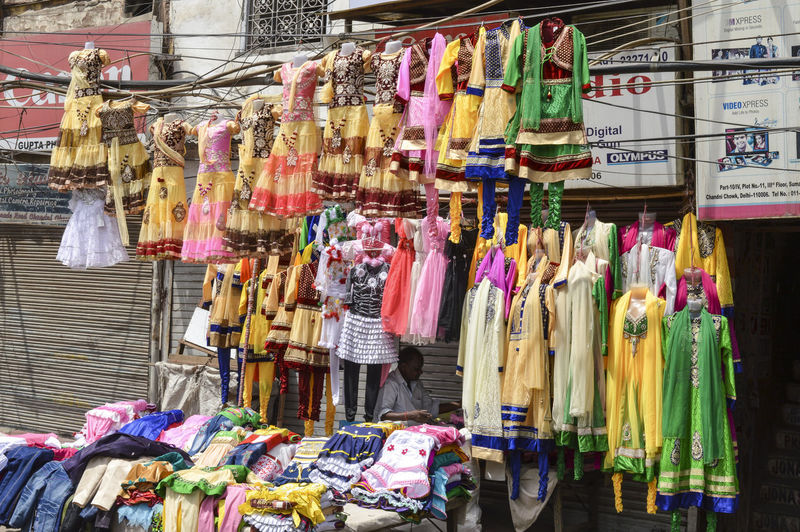 Panoramic view of market stall for sale