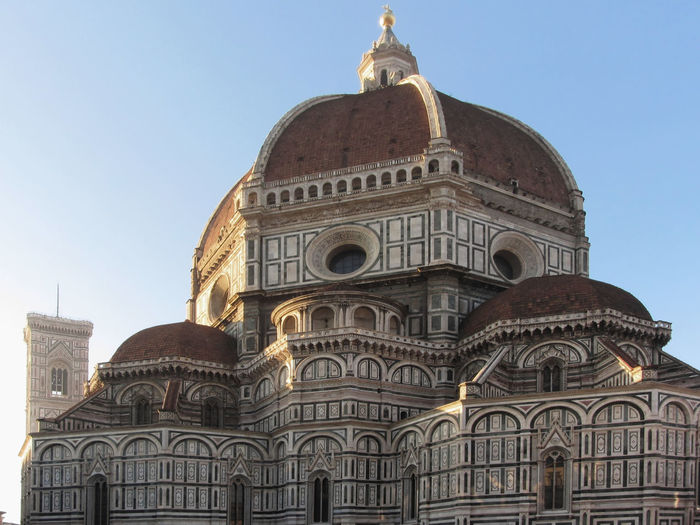 Cathedral of Saint Mary of the Flower in Florence, Italy Architecture Attraction Cathedral Church Cityscape Destination Dome Florence Flower Heritage Italy Landmark Mary Medieval Monument Renaissance Saint Site Tourism Tourist Town Travel Tuscany Unesco Urban