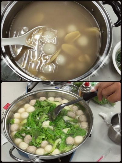 Happy winter solstice Rice Dumpling Warm Cold Temperature Bon Appétit! Indoors  Vegetable Bowl Freshness Healthy Eating Ready-to-eat People