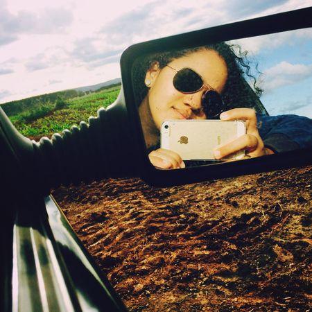 📸✌🏽️ Myself Portrait Nature Road