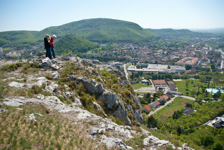 Hainburg an der Donau sight from above Austria City Country Crag Day Hainburg An Der Donau Hill Landscape Mountain Nature Nature Outdoors People Reef Rock Sightseeing Stone Travel Destinations View From Above