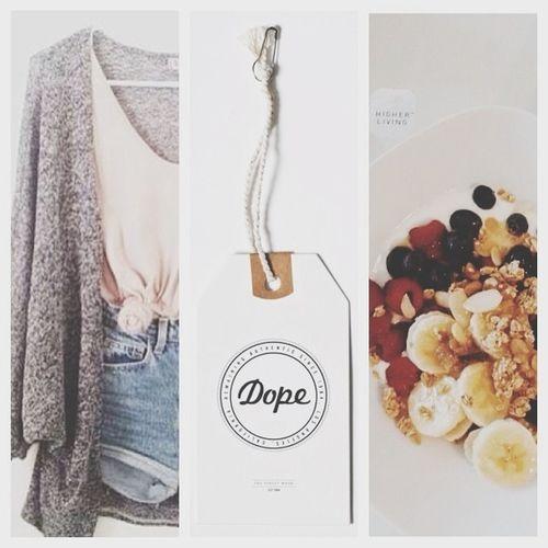 DOPE Healthy Breakfast Brandymelville