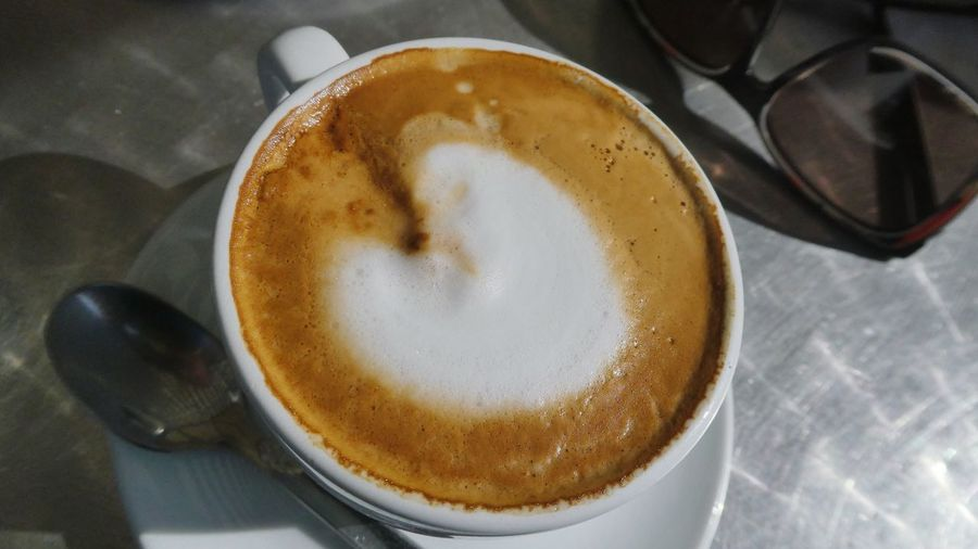 love is everywhere Heart Shape Heart On Coffee Decorative Art Cremacaffè Presentation HEARTLY Love Is Everywhere Coffee Break Still Life Photography EyeEm Gallery EyeEm Selects Frothy Drink Froth Art Cappuccino Drink Coffee - Drink Latte Directly Above Coffee Cup Table Close-up Hot Drink Beverage Cafe Macchiato Coffee Black Coffee