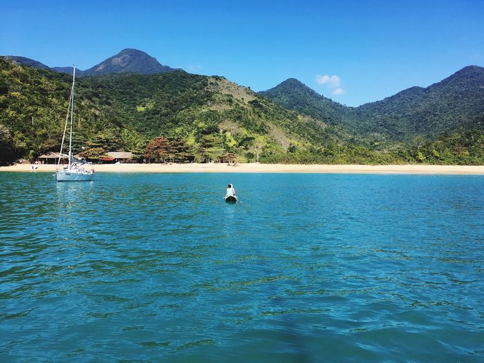 Paraty - RJ Nature Tranquil Scene Paraty Paraty, Brazil Beach Day Beauty In Nature Outdoors Sunny Day Vacations Travel Destinations
